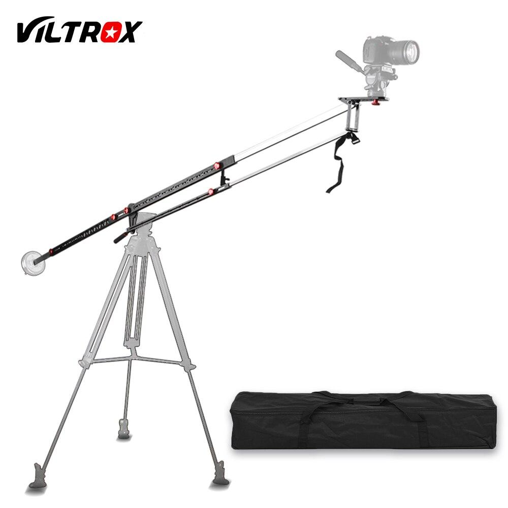 Viltrox YB-3M 118 pulgadas grúa portátil retráctil telescópica de aluminio brazo Max de carga 10 kg para fotografía trípode Cámara + bolsa