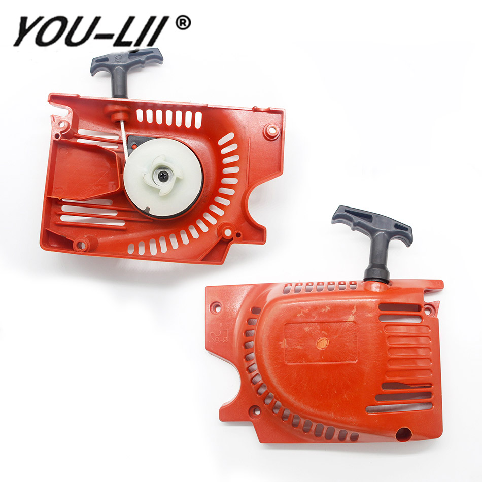 Generator Recoil Pull Starter fit For Chinese Chainsaw 4500 5200 5800 45cc 52cc 58cc