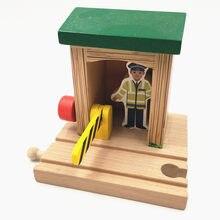 Tren de juguete para niños, con grúa TTC88 juguete de construcción, compatible con camión biro, Tomas, coche, Brio