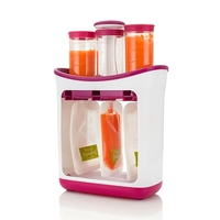 Baby Food Maker Squeeze Food Station Baby Food Organization Storage Containers Baby Food Maker Set Fruit Puree Packing Machine