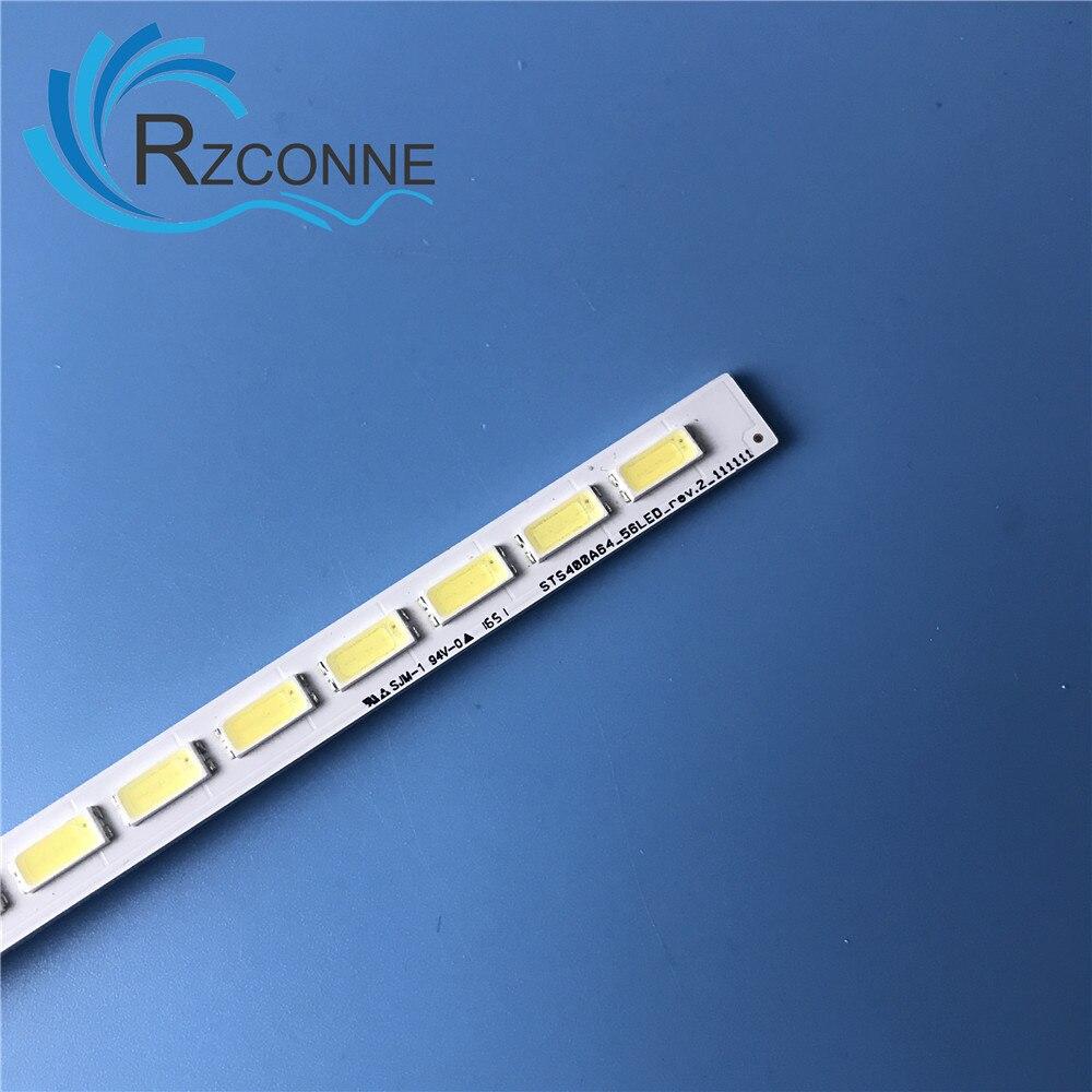 "493mm LED Backlight Lamp strip 56leds For Toshiba 40"" TV LJ64-03514A LED strip 2012SGS40 7030L 56 REV 1.0 40TL962RB"