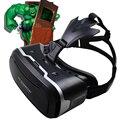 """VR Shinecon Виртуальной Реальности 3D Фильм Смартфон Игры 3D Очки Шлем 3 D VR Картон 4-7 """"-6"""" Смартфон + Bluetooth Контроллер"""