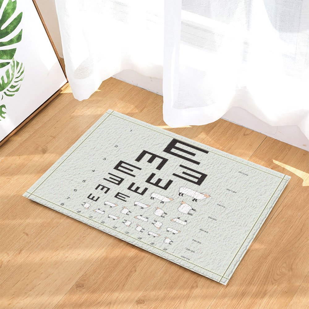 3d Digital Printing Kids Decor Optometrist Opthamologist Eye Chart
