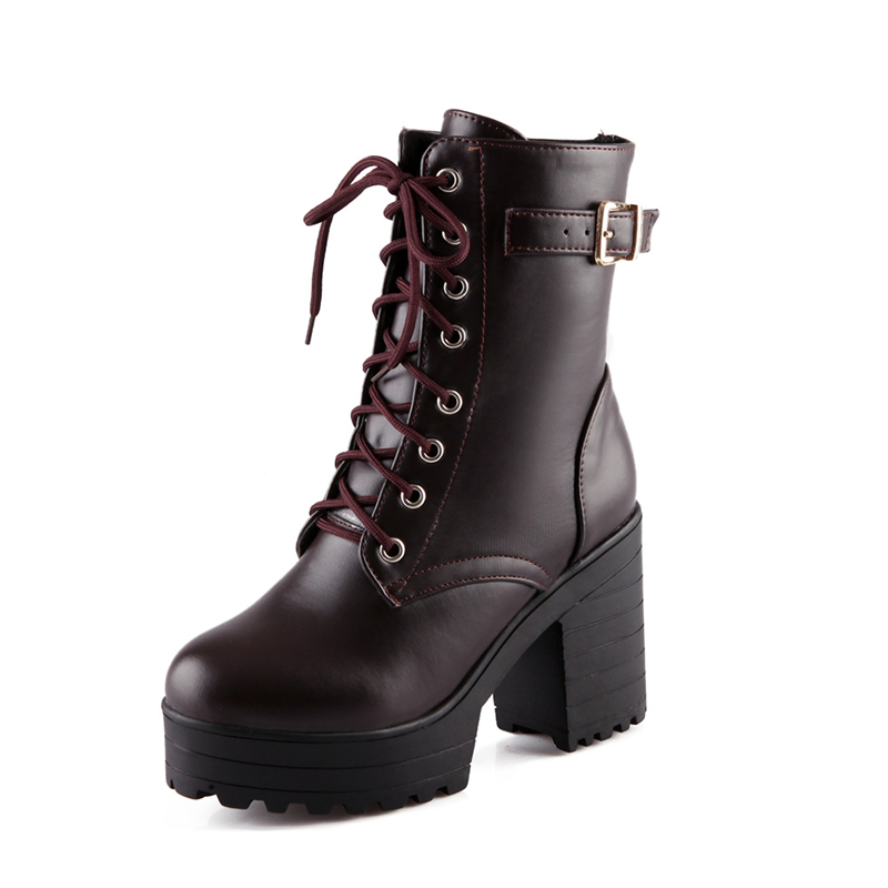 Popular Fashion Combat Boots for Women-Buy Cheap Fashion Combat
