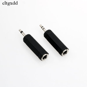 Image 3 - cltgxdd 1PCS 3.5mm Male to 6.5mm Female Mono/Dual Jack Adapter Plug Stereo Speaker Audio Converter for Mobile Phone PC Notebook