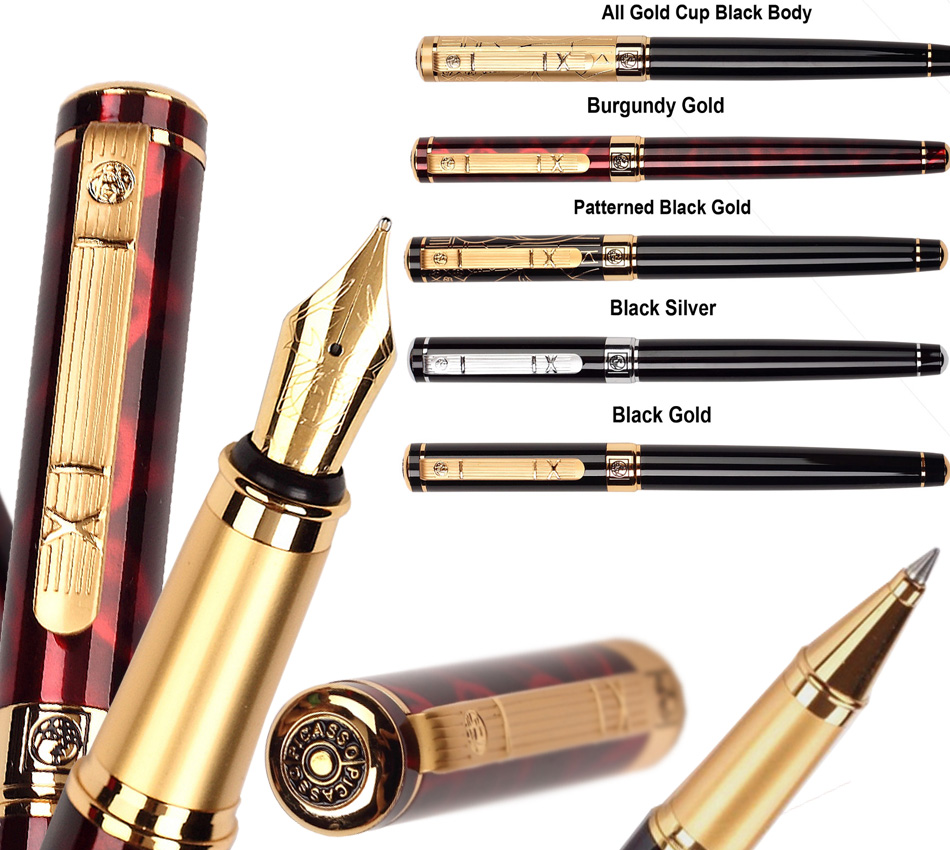 все цены на Fountain Pen RollerBall pen  Picasso 902 Office and school signature pen executive stationery 5 colors to choose   Free Shipping онлайн