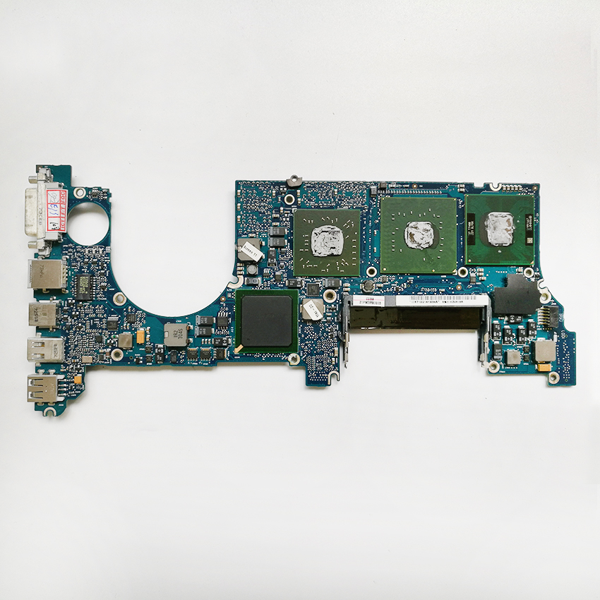 Laptop Motherboard For MacBook Pro 15 A1211 CPU 2.16GHz T7400 820-2054-B 661-4229 Logic Board MA609LL/A 2007 631 0347 m40a mlb 820 1900 a oem logic board 1 83 t2400 ghz for m mini a1176 emc 2108 ma608 gma 950 64m