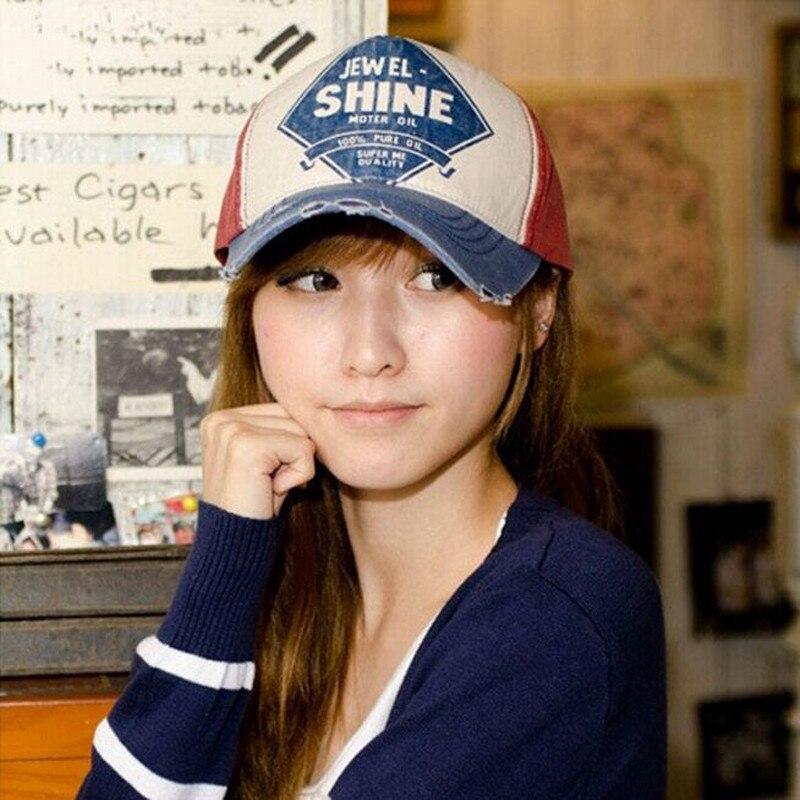 Hot Brand Snapback Baseball Cap Coated cloth Baseball shine letters sunshade Hats For Men Women