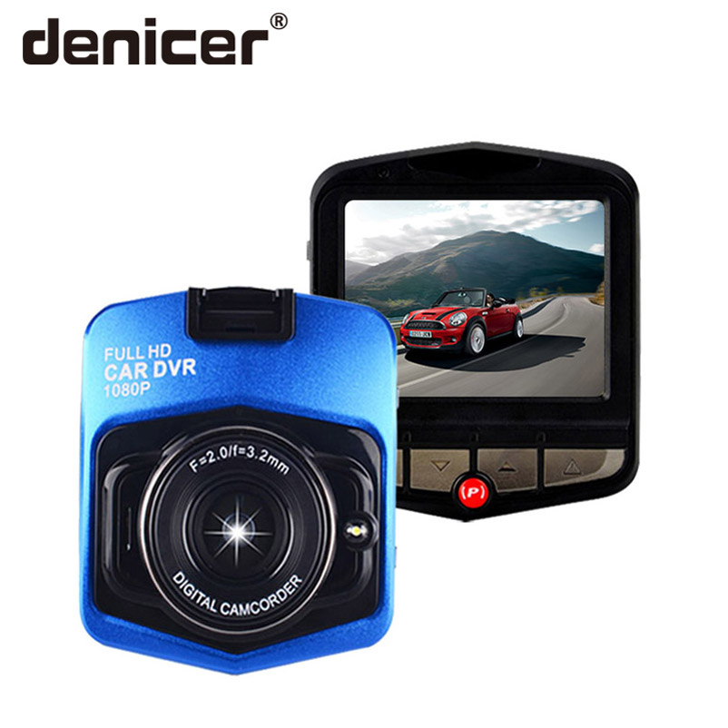 Buy Denicer Car Dvr Full HD 1080P Auto Video Recorder 2.4 Inch Screen Dash Camera 170 Degree Wide Angle Registrator Vehicle Car Cam for only 39.67 USD