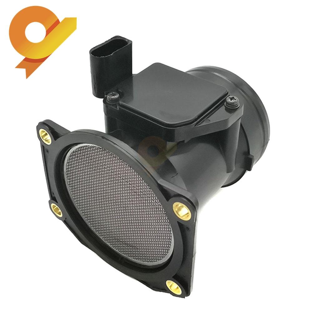 MAF Sensore di Flusso D'aria di Massa Per SEAT CORDOBA IBIZA LEON TOLEDO SKODA OCTAVIA AUDI VOLKSWAGEN VW 06A906461B 06A906461BX