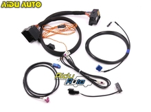 고품질 MIB2 STD2 ZR NAV Discover Pro 라디오 업데이트 설치 어댑터 케이블 와이어 하네스 골프 7 MK7 Passat B8