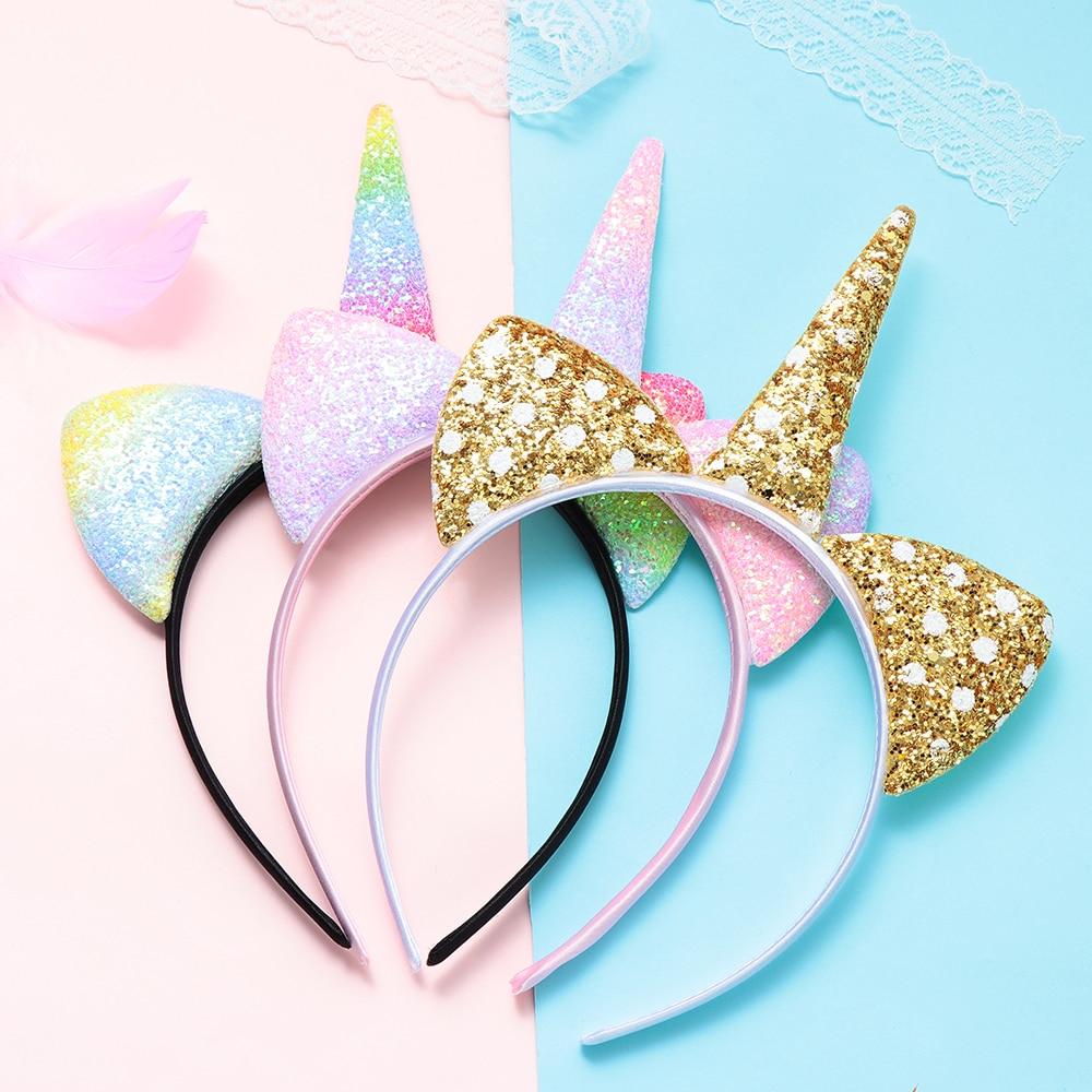 Unicorn Cosplay Horn Band Animal Ear Headpiece Christmas Hair Accessory