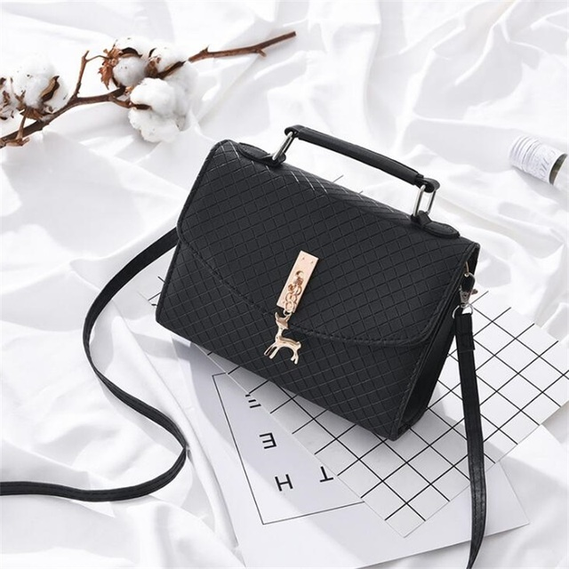 2020 New High Quality Leather Shoulder Messenger Crossbody Flap Tote Bag