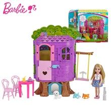 Original Barbie  Doll Princess Kelly Tree House Toy Story Girl Birthday Toys For Children Gifts Fashion Dolls Girls