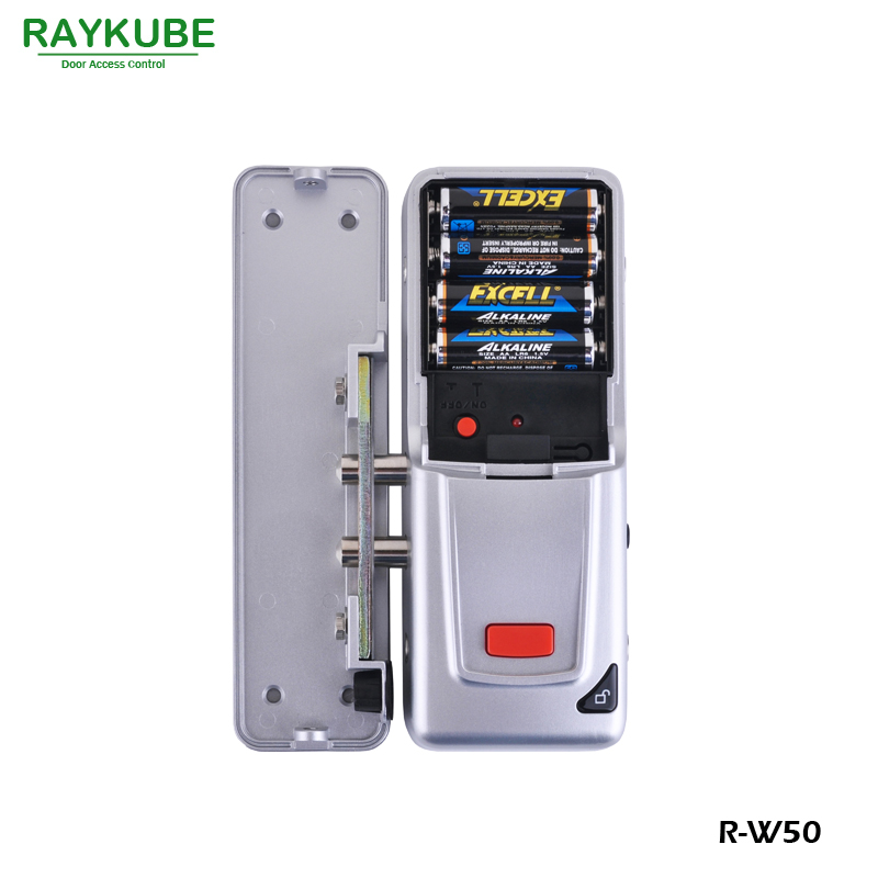 Image 3 - RAYKUBE Wireless Door Access Control System Electronic Intelligent Door Lock With RFID Keypad Remote Control Opening R W50-in Access Control Kits from Security & Protection