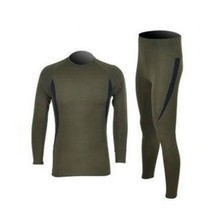 Men's Winter Long Johns Outdoor Warm Underwear Set Military Army Hike Ski Polartec Suits Quick Dry Slim Fit Thermal Johns Set