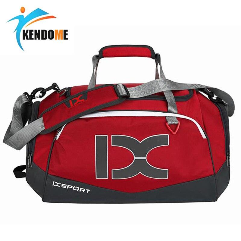 40L Fitness Travel Shoulder Bag Handbag Waterproof Sports Shoes For Women Men Dry And Wet Separation Sac De Training Gym Bags