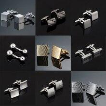 Роскошные модные запонки с лазерной гравировкой, дизайн Sudoku, 18 стилей, мужские брендовые запонки, запонки, высокое качество, ювелирные изделия
