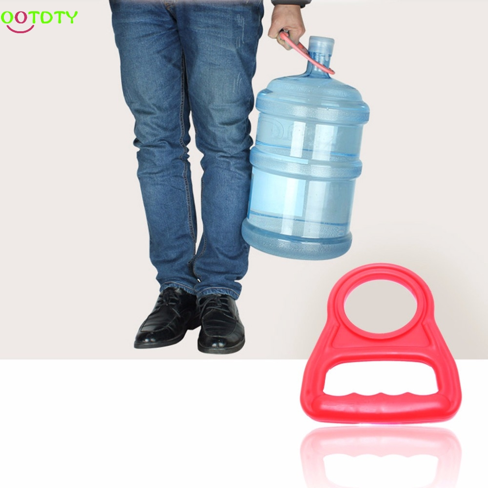 Bottled Water Pail Bucket Handle Upset Nergy Thickened  828 Promotion harlem hl 956 convenient folding outdoor pvc pail bucket translucent white green 10l