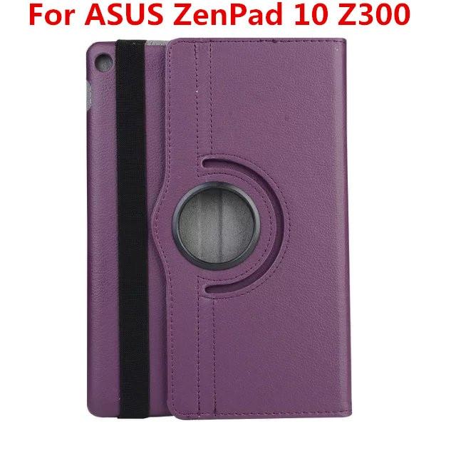 360 degree Rotating Flip Cover For ASUS ZenPad 10 Z300 / Z300C/Z300CL/Z300CG  Z300m Z301MFL Z301ML Z301 tablet case Leather case цена и фото
