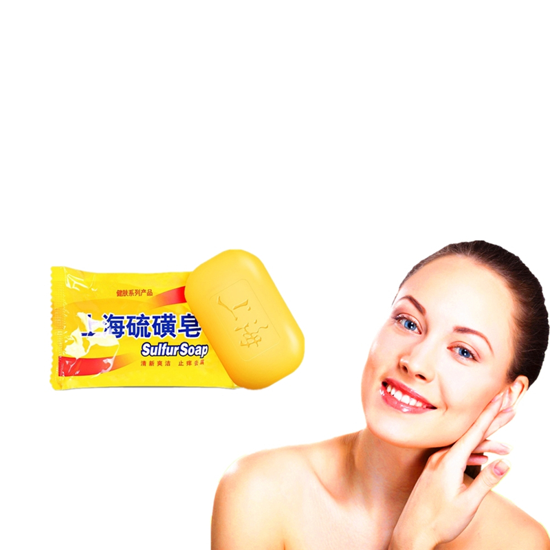 Chicken Skin Treament Repair Remove Dead Skin Goose Bumps Pimples Foliculitis Whole Body Whitening Sulfur Soap