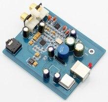 YJHIFI SA9023 + ES9018 K2M HIFI audio usb dac carte son numérique audio décodeur ES9023 Hyperstream Dynamique gamme jusqu'à 112dB