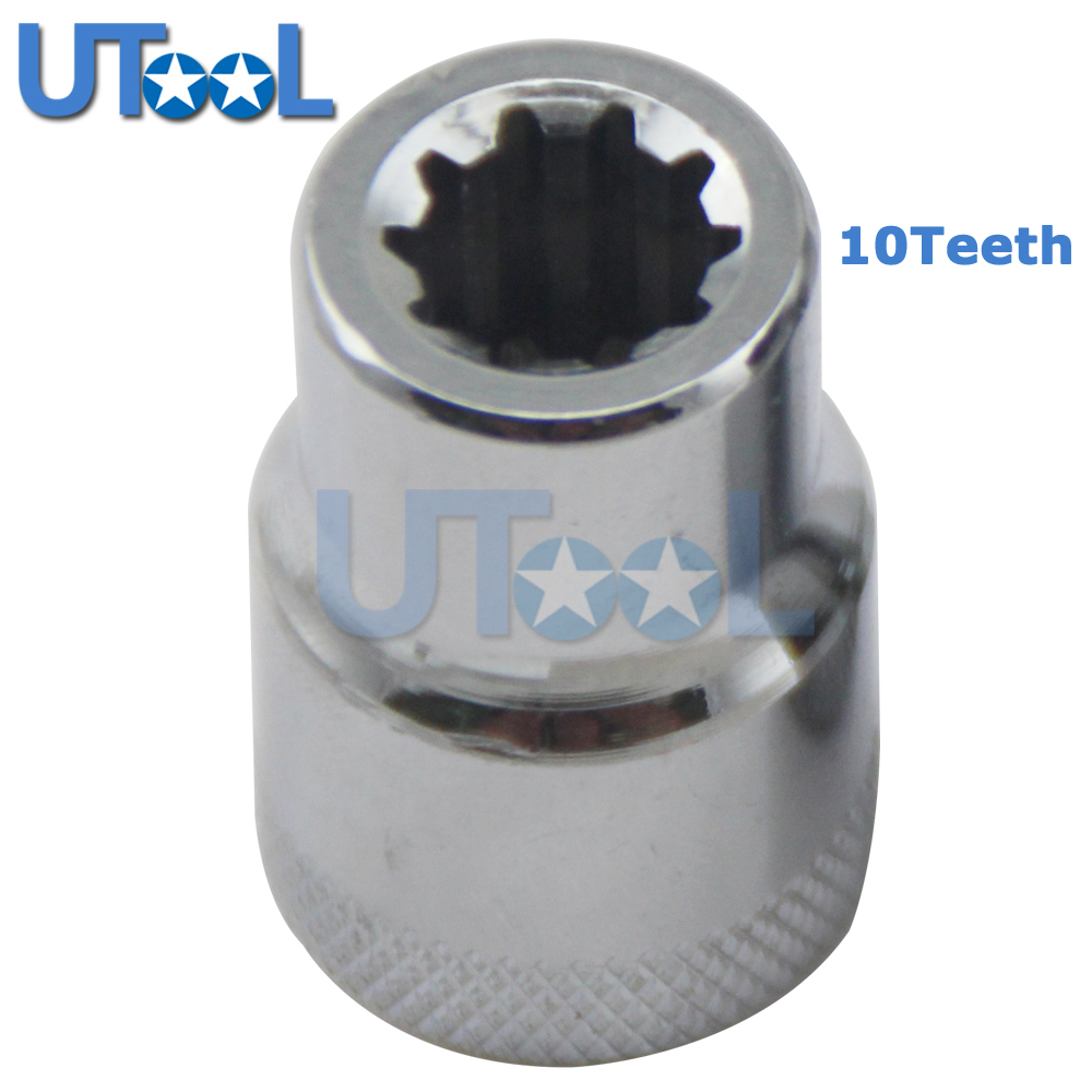 Audi Q7 Brakes: UTOOL 10 Point Brake Caliper Socket Brake Pad Screw For