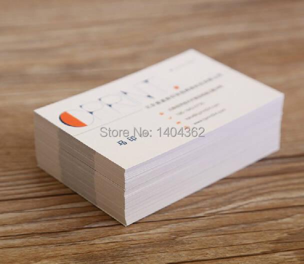 Us 23 71 15 Off Kundenspezifische Visitenkarten Visitenkarte Druck Besuchen Karte Top Qualität 300g Papier Visitenkarte Freie 500 Teile Los In