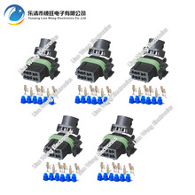 5 Sets 6 Pin Replacement Parts for Automotive with Terminals DJ7066A-3.5-21 car connector
