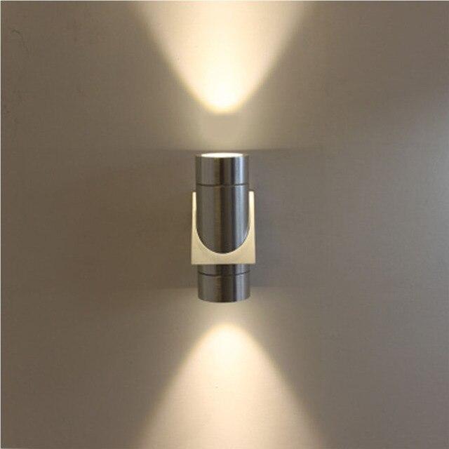 Kreative Aluminium Wandleuchte Led Wandleuchte Kleine Tragbare Wand  Flurbeleuchtung Industrielle Wandleuchte