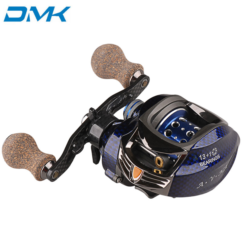 Baitcasting Fishing Reel 14BB 7.0:1 Right Left Hand Bait Casting Spinning Lure Wheel Carp Moulinet Peche Carretilhas De Pescaria kastking stealth 11 1bb carbon body right left hand bait casting carp fishing reel high speed baitcasting pesca 7 0 1 lure reel