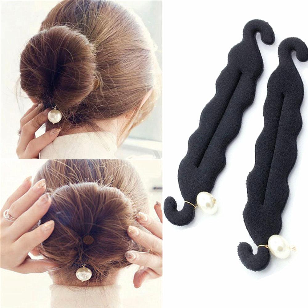 Магия для укладки волос Twist инструмент для причесок-пучков заколки Hairdisk фрикадельки глава резиновой зажим, аксессуар для волос для Для женщ...