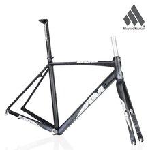 AM R5000 Lightweight Aluminium Alloy 700c Frame Carbon Fork 48/50/52cm Road Bicycle Racing Frameset