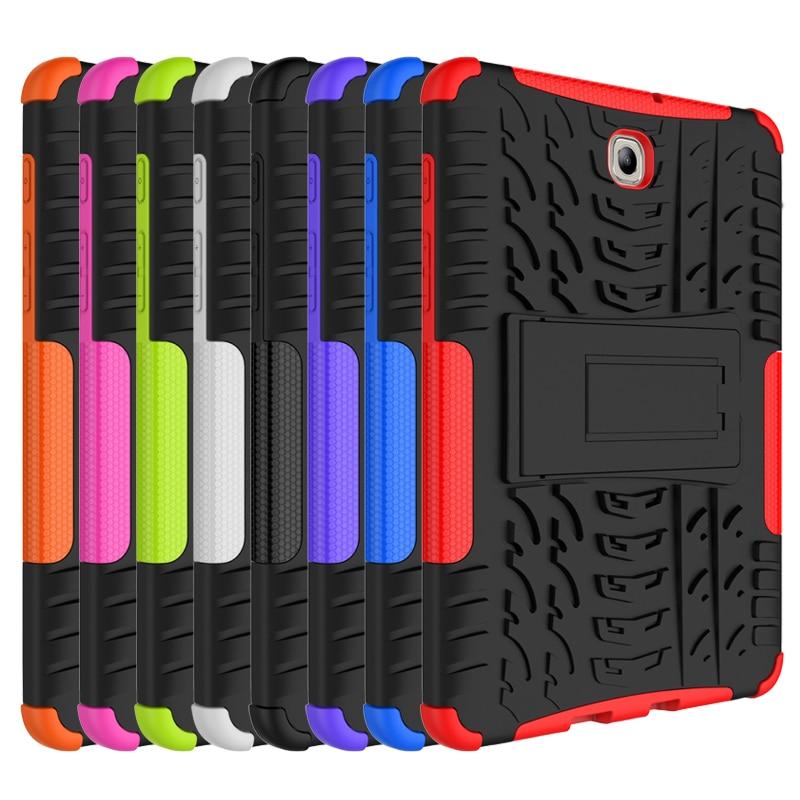 Samsung Galaxy Tab s2 8.0 Case Best Sickstand Hibrid Silikon Qatı - Planşet aksesuarları - Fotoqrafiya 2