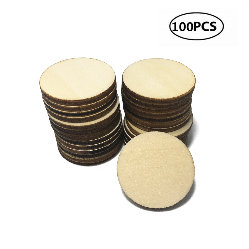 100x 40mm Blank Wood Puzzle Pieces Wedding Craft Scrapooking Card Making DIY