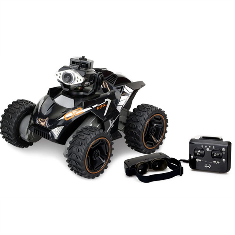 Silverlit Racing RC Car With FPV 30W Pixels Camera VR Glasses HD Video Off-Road Vehicle Toy