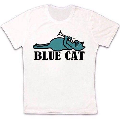 Blue Cat Records 60s Soul R&B Music Label Retro Vintage Unisex T Shirt 600