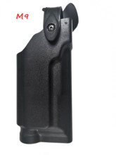 Military Belt Holster Beretta M9 92 96 Pistol Gun Holster Tactical Hunting Airsoft Waist Holster With Flashlight For M9 Holster adjustable carp ice fishing rod stand holder fishing pole aluminum alloy triangle bracket fishing tackle accessory fish tool