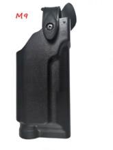 Military Belt Holster Beretta M9 92 96 Pistol Gun Tactical Hunting Airsoft Waist With Flashlight For
