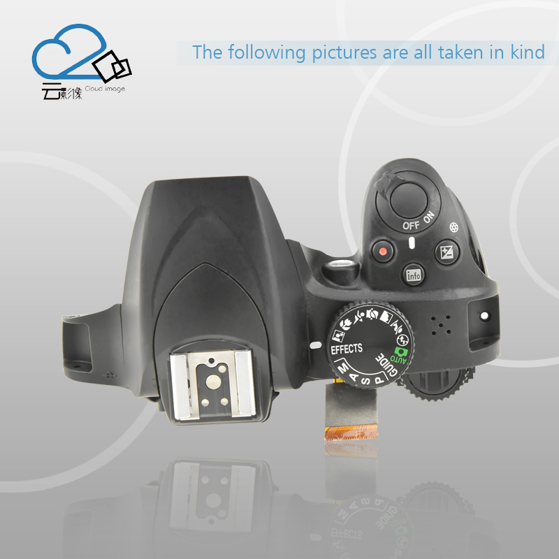 D3400 Top cover with flash and shutter button for Nikon цена