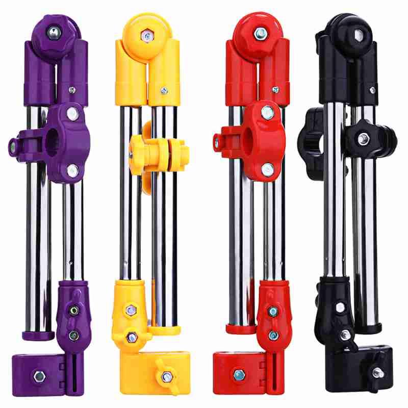 1 Pc New Adjustable Aluminum+ABS Baby Stroller Pram Umbrella Stretch Stand Holder 2-sections Umbrella Handlebar Holder 4 Colors