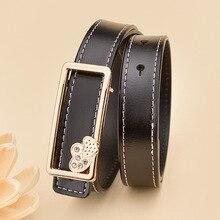 Heart Buckle Leather Belt For Women