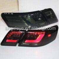 2006 2009 год для Toyota Camry V40 светодиодные задние лампы подсветки дым черный Цвет для Северной Америки Версия