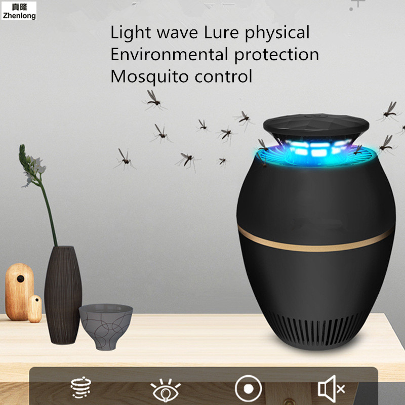 USB Electric Mini Mosquito Lamp LED Insect Mosquito Repeller Killer Fly Bug Insect Night Housefly Led Light Touch Medium Suction