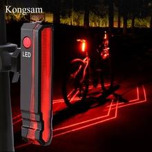 GIYO USB Перезаряжаемый задний фонарь Предупреждение ющий свет светодио дный велосипедный светодиодный задний фонарь водостойкий MTB шоссейный велосипед задний фонарь