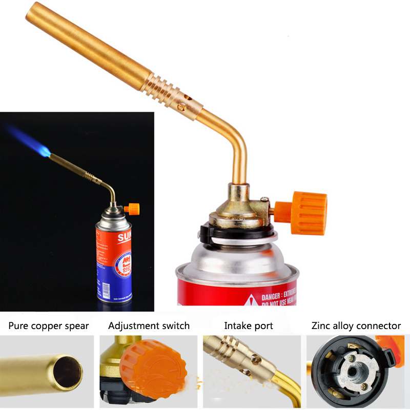 Sport Unlimited DAS Butane Blower Brazing Gas Torch Lighter Flame Gun for Welding Outdoor Camping BBQ