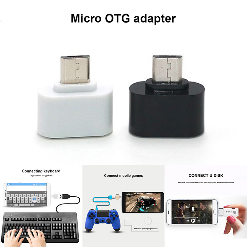 100 pcs Micro USB/Type-C à OTG USB Port Adatper Convertisseur Connecteur pour Téléphones Tablet @ ND998