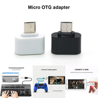 100Pcs Micro USB/Type C to OTG USB Port Adatper Converter Connector for Phones Tablet @ ND998