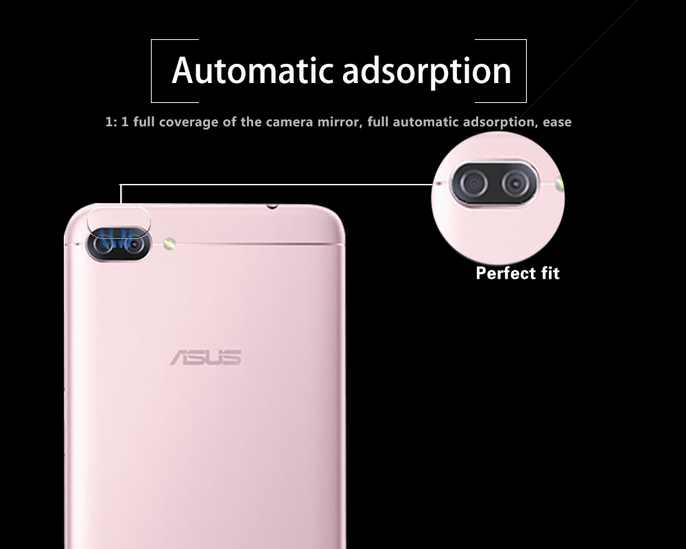 Ultra-thin Back Camera Lens Tempered Glass Film For Asus Zenfone 4 Max ZC520KLRear Lens Protective Film Glass Anti Shatter