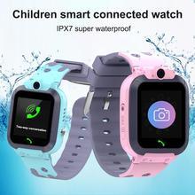 Q16 Kids Smartwatch Phone IPX67 Waterproof Children Camera Alarm Clock Watch For Gift